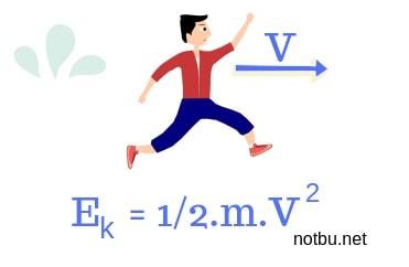 Kinetik enerji formülü