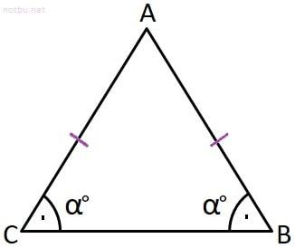 İkizkenar üçgen