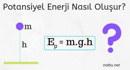 Potansiyel enerji nasıl oluşur