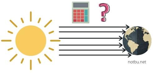 Güneş ışınlarının geliş açısı hesaplama örnekleri