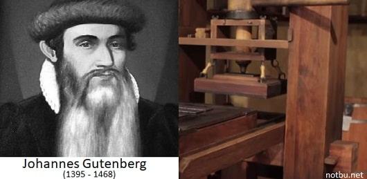 Gutenberg neyi icat etti