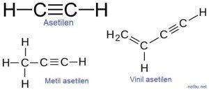 Asetilen formülü