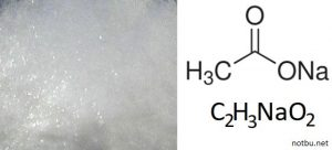 Sodyum asetat ne işe yarar