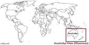 Avustralya hangi kıtada