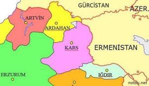 Ermenistan ile sınırı olan kaç ilimiz vardır