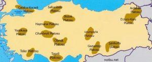 Ülkemizdeki platolar