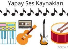 Yapay ses kaynakları