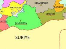 Suriye ile sınırı olan kaç ilimiz vardır