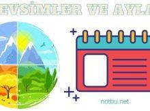 Mevsimler ve ayları